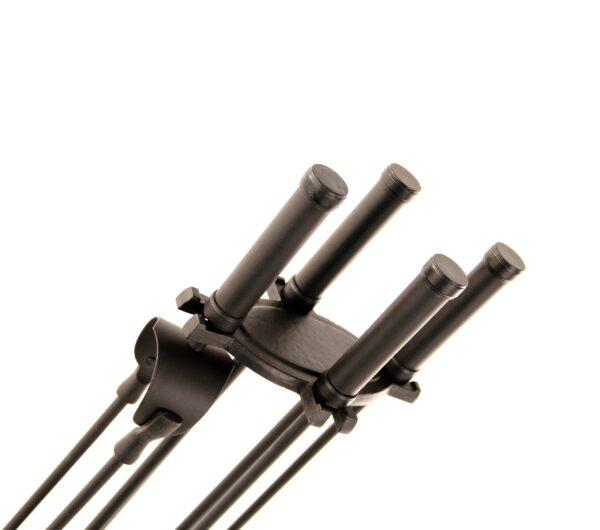 """Ercal Fireplace Tool Set - Black 24"""" High"""