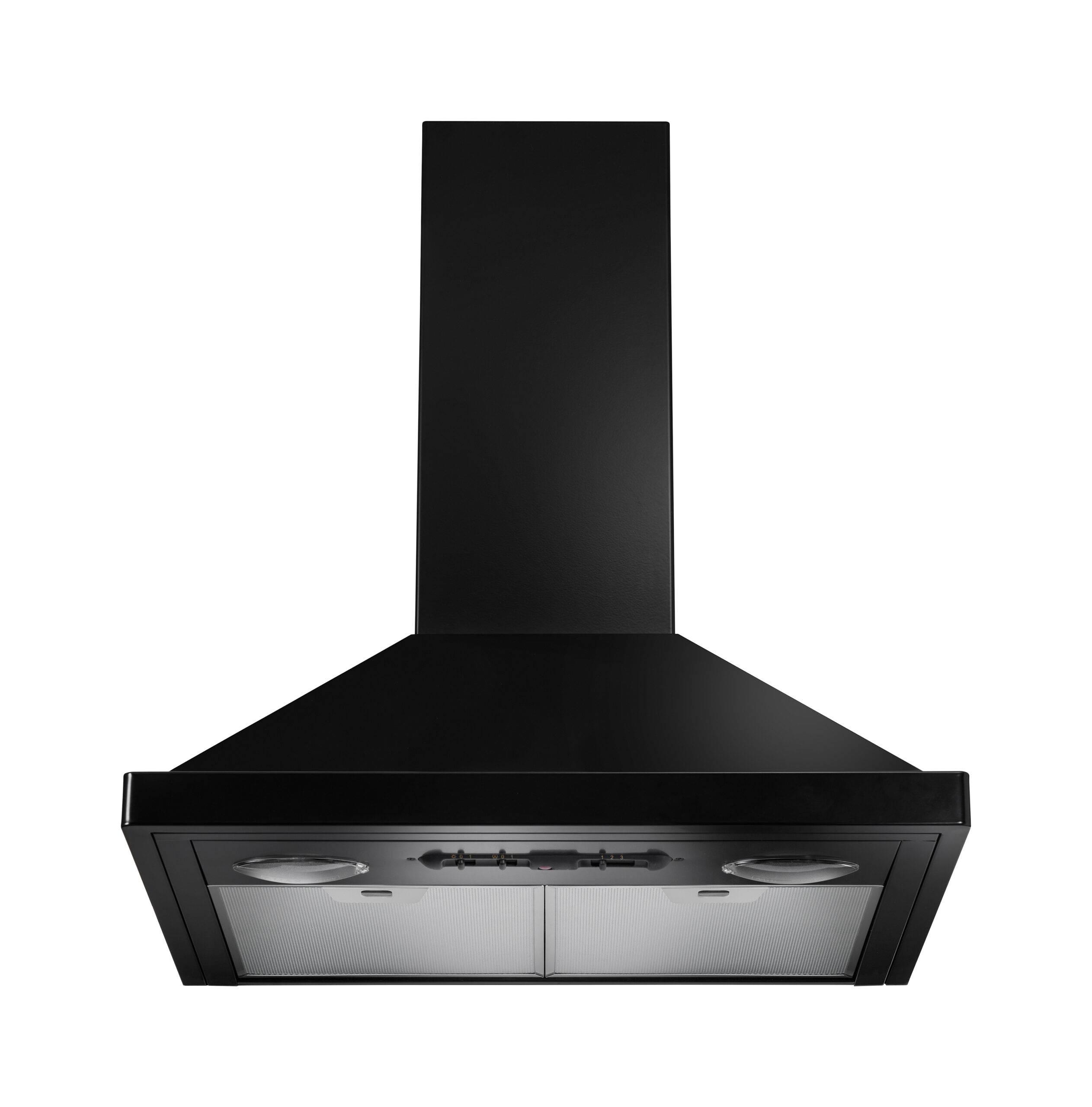 AGA 60cm Cooker Hood - Black