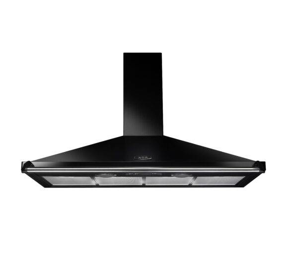 AGA 110cm Traditional Cooker Hood - Black