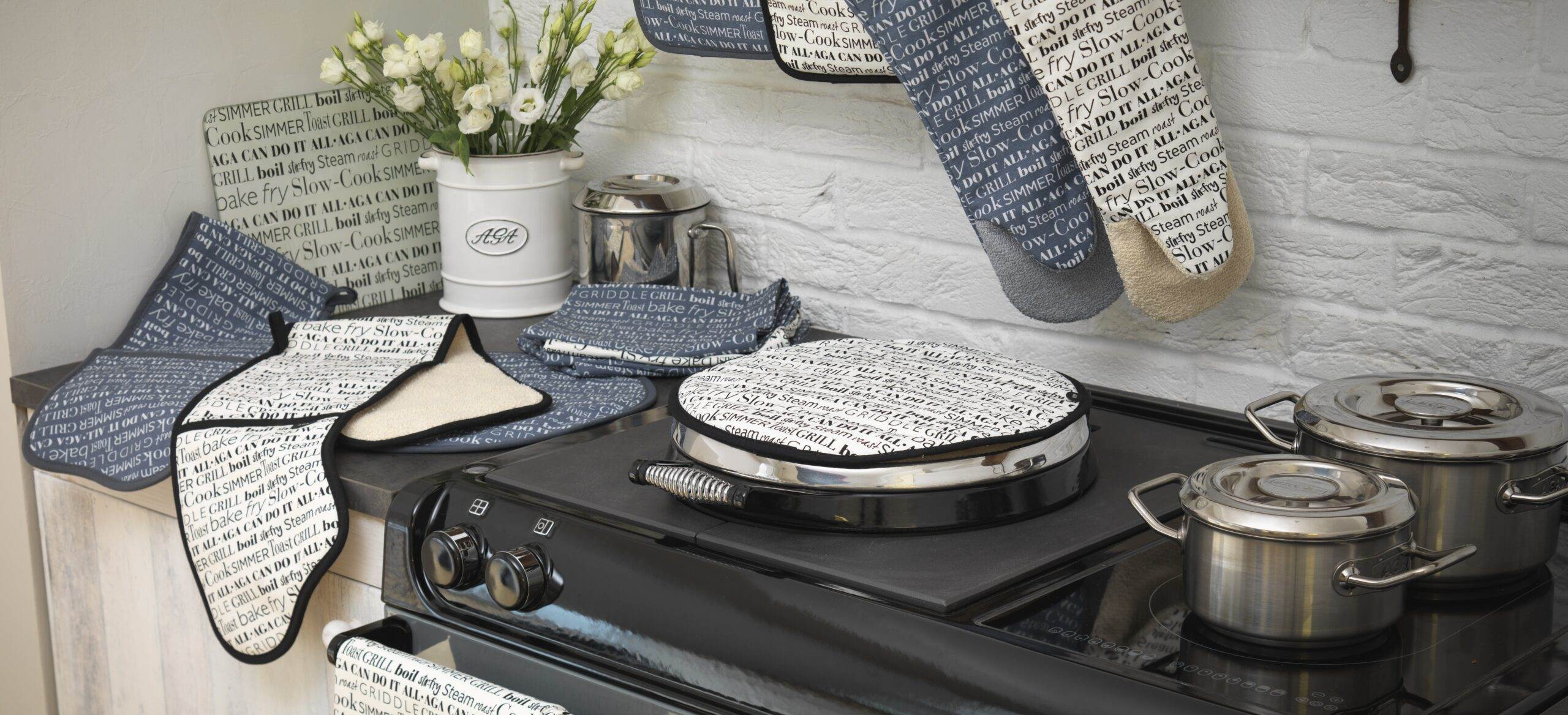 AGA cookshop product lifestyles