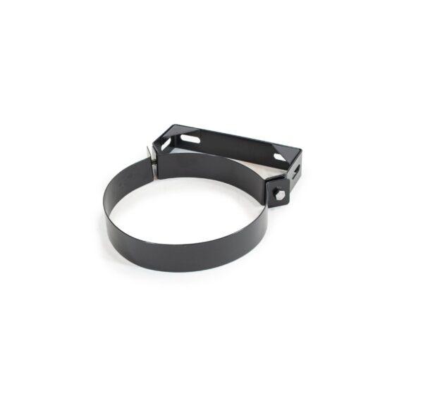 Wall Bracket 60mm - Schiedel Twin Wall Flue - Black Powder Coated