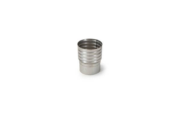 Flexible Liner to Flue Pipe Screw Adaptor - Stainless Steel