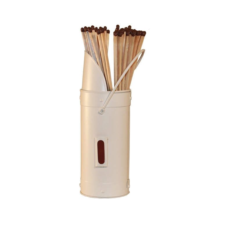Ivory Match Holder & Matches
