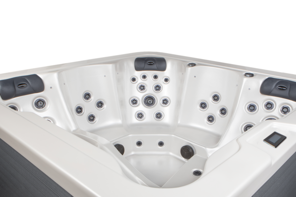"Novitek Olos Premium dual-lounger hot tub - <span style=""color: #000000;"">The Olos Premium includes the following over the standard Olos:</span>