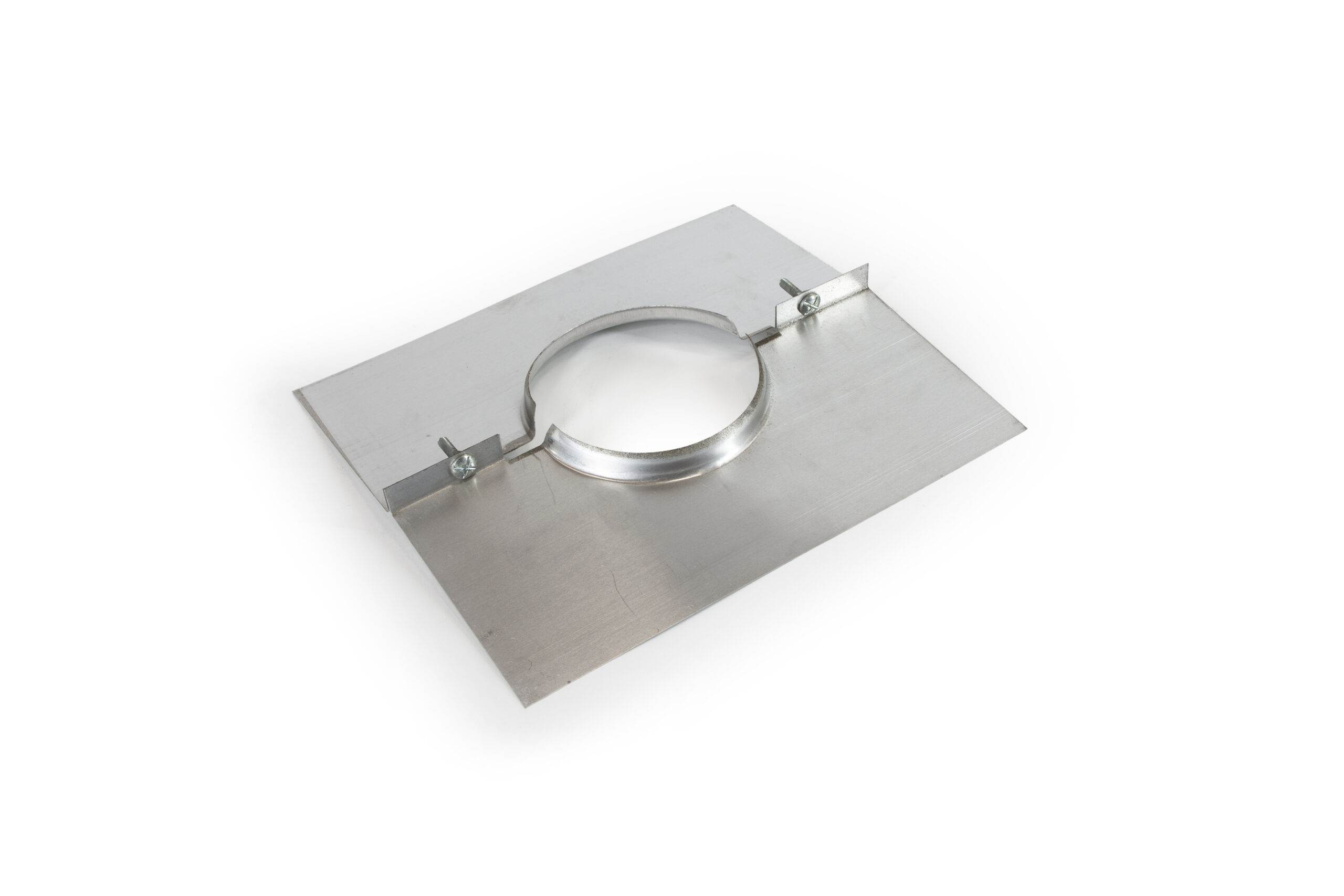 Plate & Clamp for Flexible Gas Liner