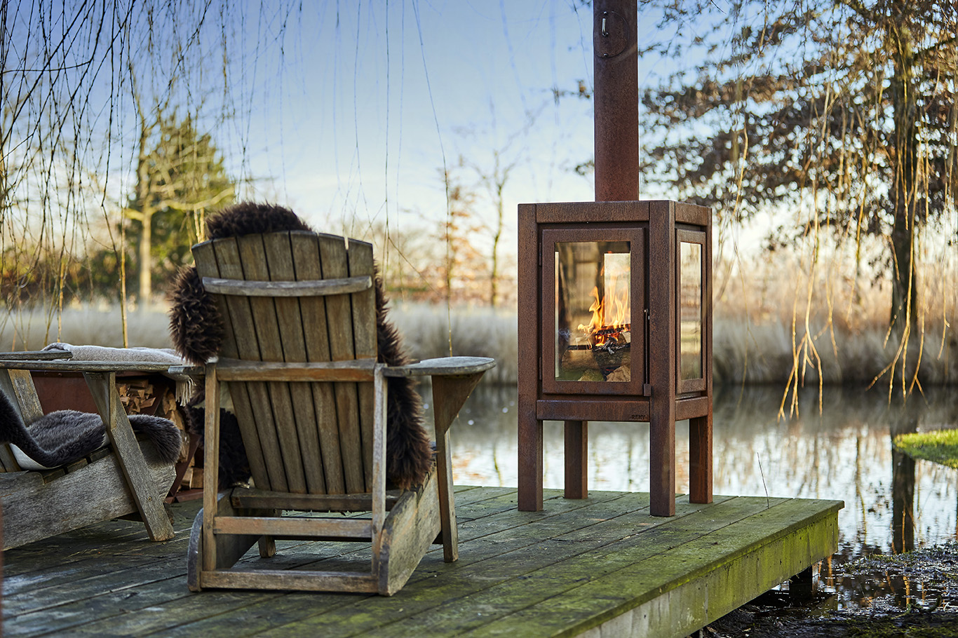 RB73 Quaruba XXL - Outdoor Stove
