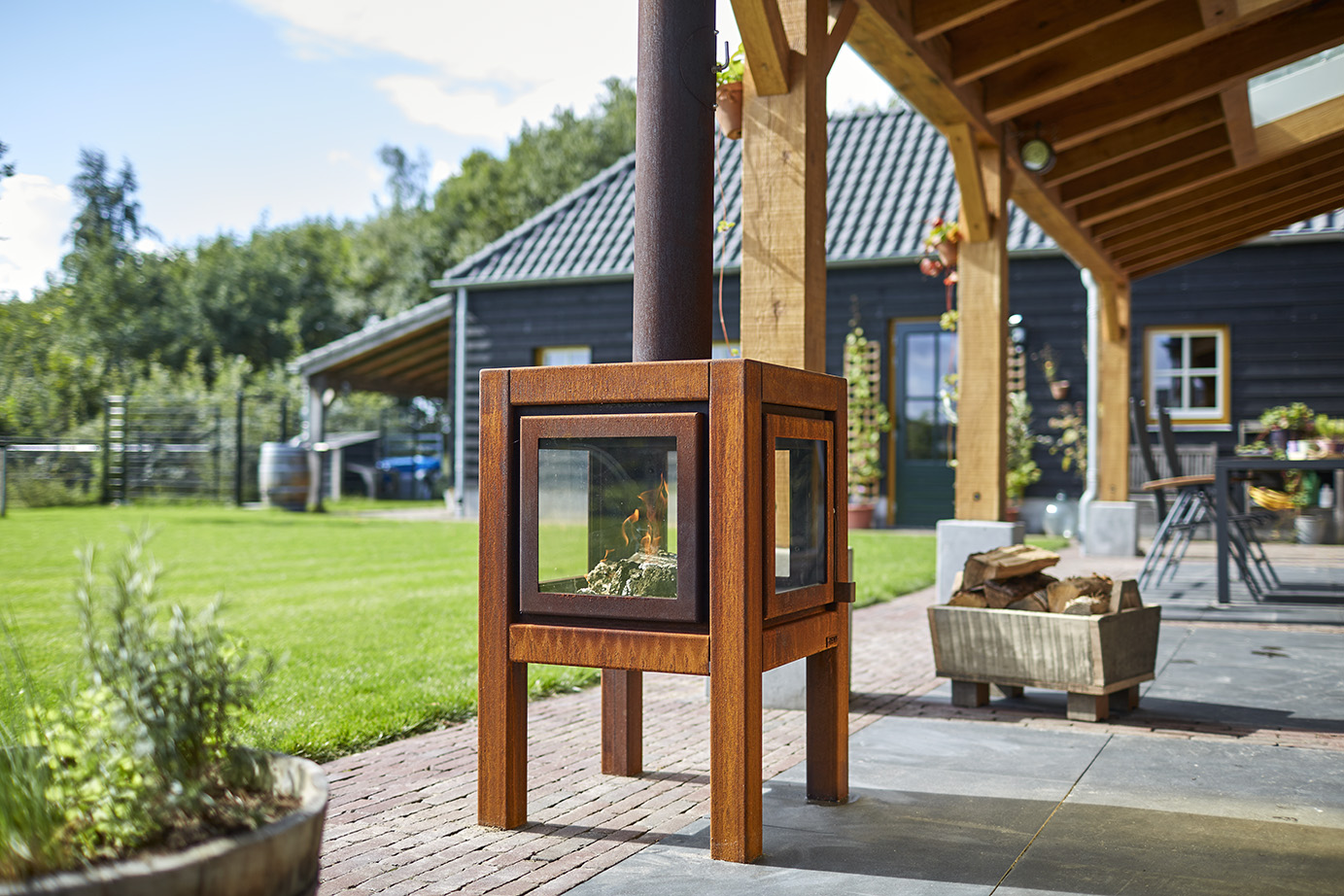 RB73 Quaruba L - Outdoor Stove