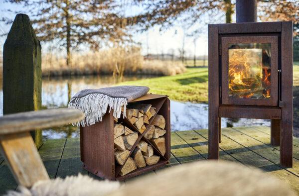RB73 Wood Storage BloX