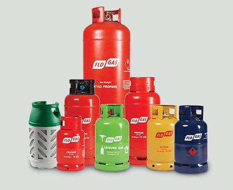 Gas bottles Topstak