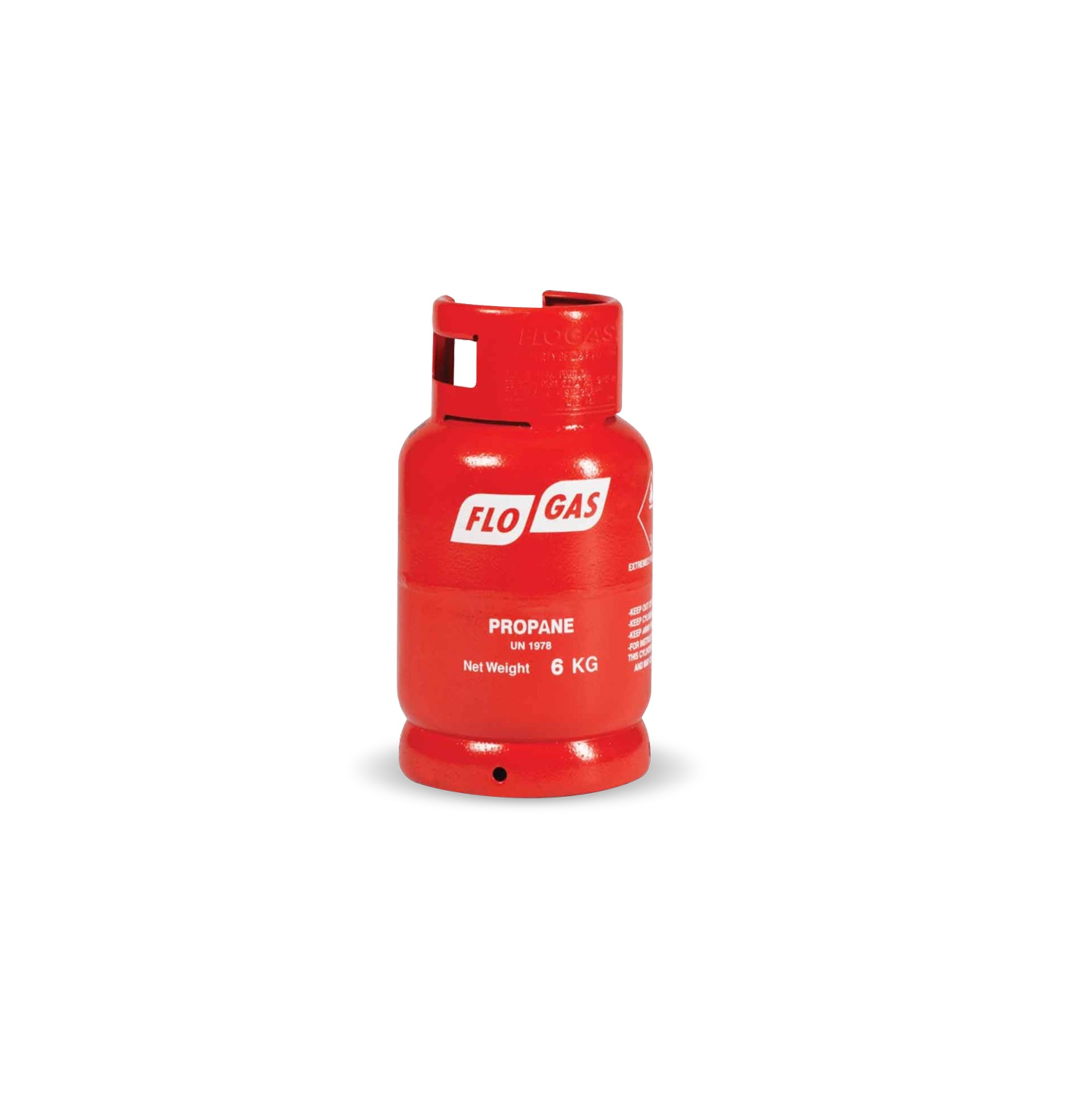 FloGas 6kg Propane Gas Bottle