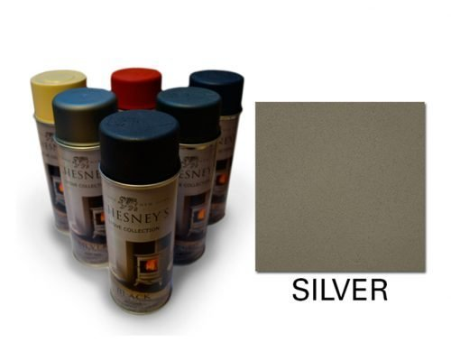 Chesney's Silver Stove Paint - Chesney's stove paint in a 400ml spray can.