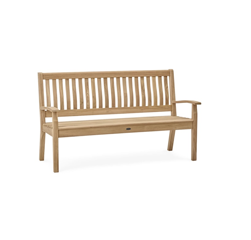 Neptune Canterbury Wave Back 5ft Bench