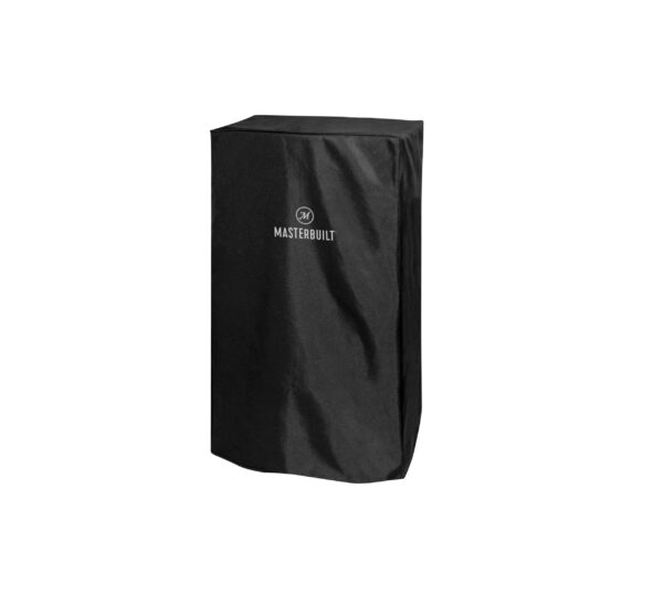 """Masterbuilt 30"""" Smoker Cover - Protect your Masterbuilt Digital Electric Smoker with this cover. The durable, polyurethane-coated cover protects your smoker from the elements year-round. It?s weather-resistant and resists fading. Master the art of smoking with Masterbuilt."""