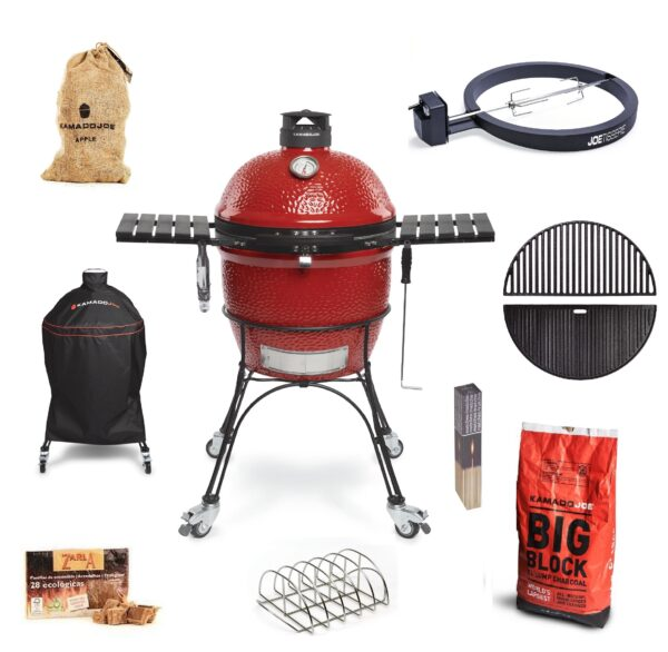 Kamado Joe - Classic II PRO JOE Bundle - The Kamado Joe ? Classic II is the latest grill in the Kamado Joe Range. Maintaining the high standards of craftsmanship and innovation synonymous with Kamado Joe this model is packed with new features, making it the most advanced kamado grill available anywhere today.