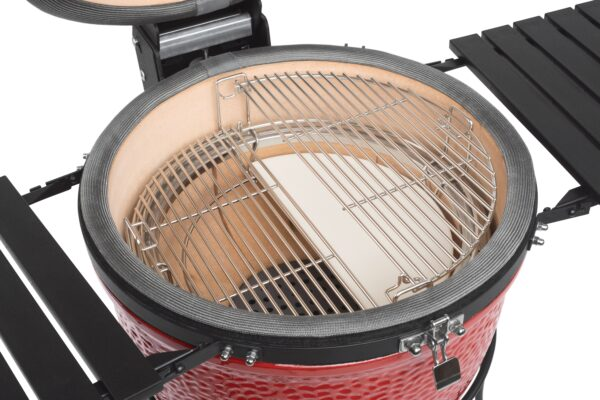 Kamado Joe - Classic II - The Kamado Joe - Classic II is the latest grill in the Kamado Joe Range. Maintaining the high standards of craftsmanship and innovation synonymous with Kamado Joe this model is packed with new features, making it the most advanced kamado grill available anywhere today.