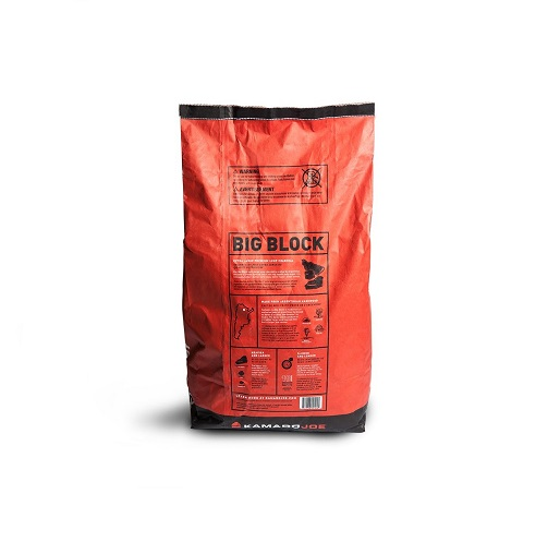 Kamado Joe Charcoal (9.07kg) - Commissioned exclusively for Kamado Joe from Argentina, this clean-burning 100 percent genuine hardwood charcoal burns hotter and longer than any other option on the market.