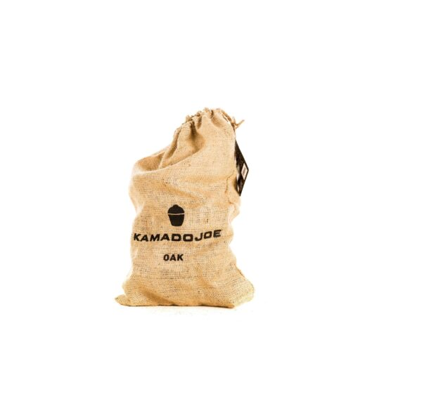 Kamado Joe - Oak Chunks (4.5kg) - From assertive to subtle, our chunks and chips come in a variety of wood types, each imparting its own distinct flavor: apple, cherry, hickory, maple, oak and pecan.