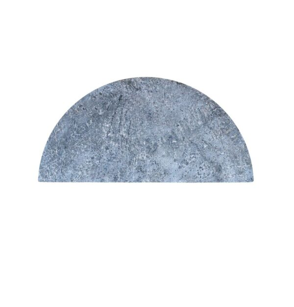 Kamado Joe - Half-Moon Soapstone - This thick bacteria- and stain-resistant slab provides an even cook with fewer flare-ups all while allowing meats to cook in their own juices