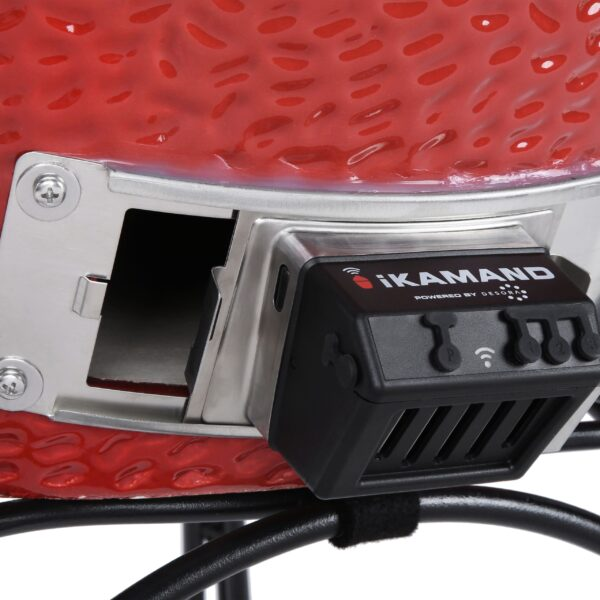 Kamado Joe - iKamand - The iKamand makes the art of low-and-slow BBQ easy? Turning even the newest kamado griller into an instant pit master. Start your Kamado Joe Classic ceramic grill, walk away, and monitor your cook on the go. You?ll always maintain full control through the iKamand app, no matter where you are. The cooking algorithms are tried, tested, and proven to cook your food to perfection.