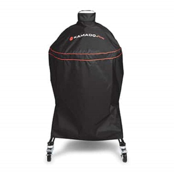 Kamado Joe - Cover for Big Joe - Kamado Big Joe Grill Cover?- Kamado Joe's?custom-fitted grill covers shield the Kamado Joe from damaging elements like sun, rain and snow while also defending it from scratches and nicks.