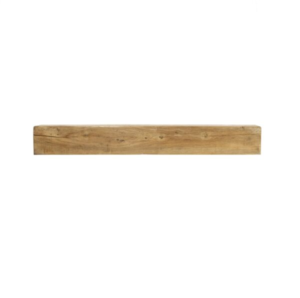 Oak Fireplace Beam: 1200mm x 150mm x 100mm - Our beautiful handcrafted solid oak beams are sustainably sourced and are suitable for a variety of uses including a feature mantle or shelf above a wood burning stove.? Available in 75mm, 100 and 150mm thick with an overall width of 1200mm and height of 150mm.? Oak beams are kiln dried to reduce excessive movement over time.? Available in either a light wax or unwaxed, please state your preference in the notes section of the checkout.