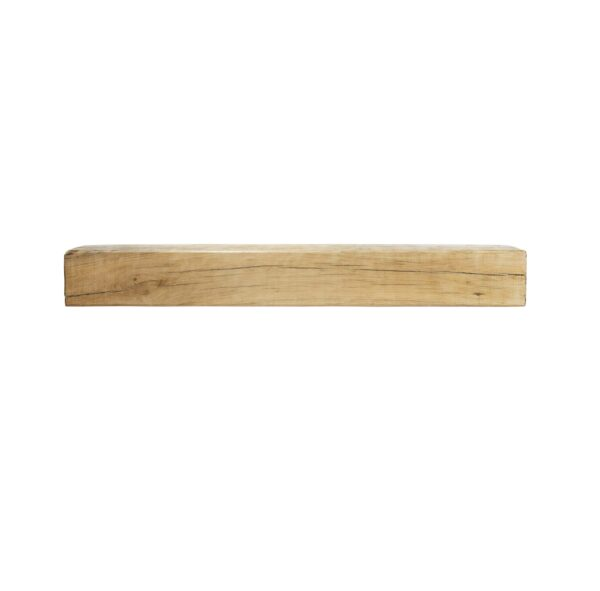 Oak Fireplace Beam: 1200mm x 150mm x 150mm - Our beautiful handcrafted solid oak beams are sustainably sourced and are suitable for a variety of uses including a feature mantle or shelf above a wood burning stove.? Available in 75mm, 100 and 150mm thick with an overall width of 1200mm and height of 150mm.? Oak beams are kiln dried to reduce excessive movement over time.? Available in either a light wax or unwaxed, please state your preference in the notes section of the checkout.