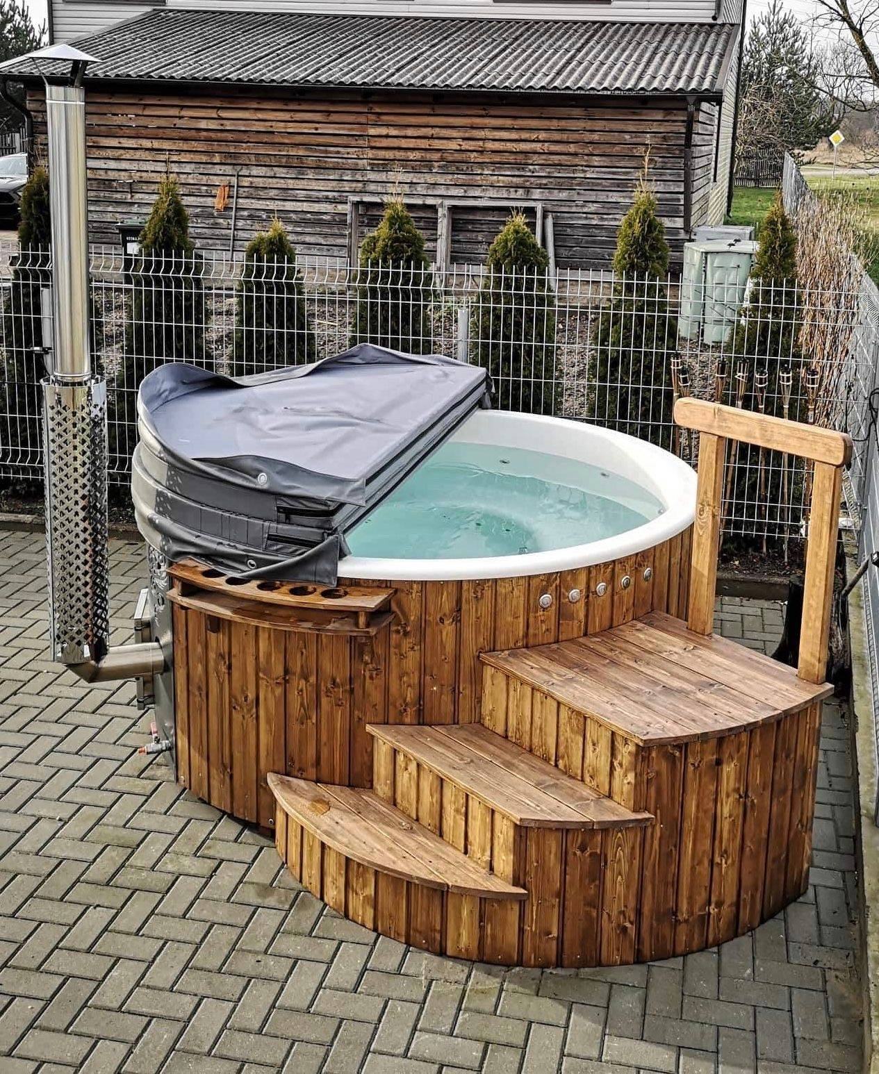 Costwold Wood Fired Eco Tub - The Burford