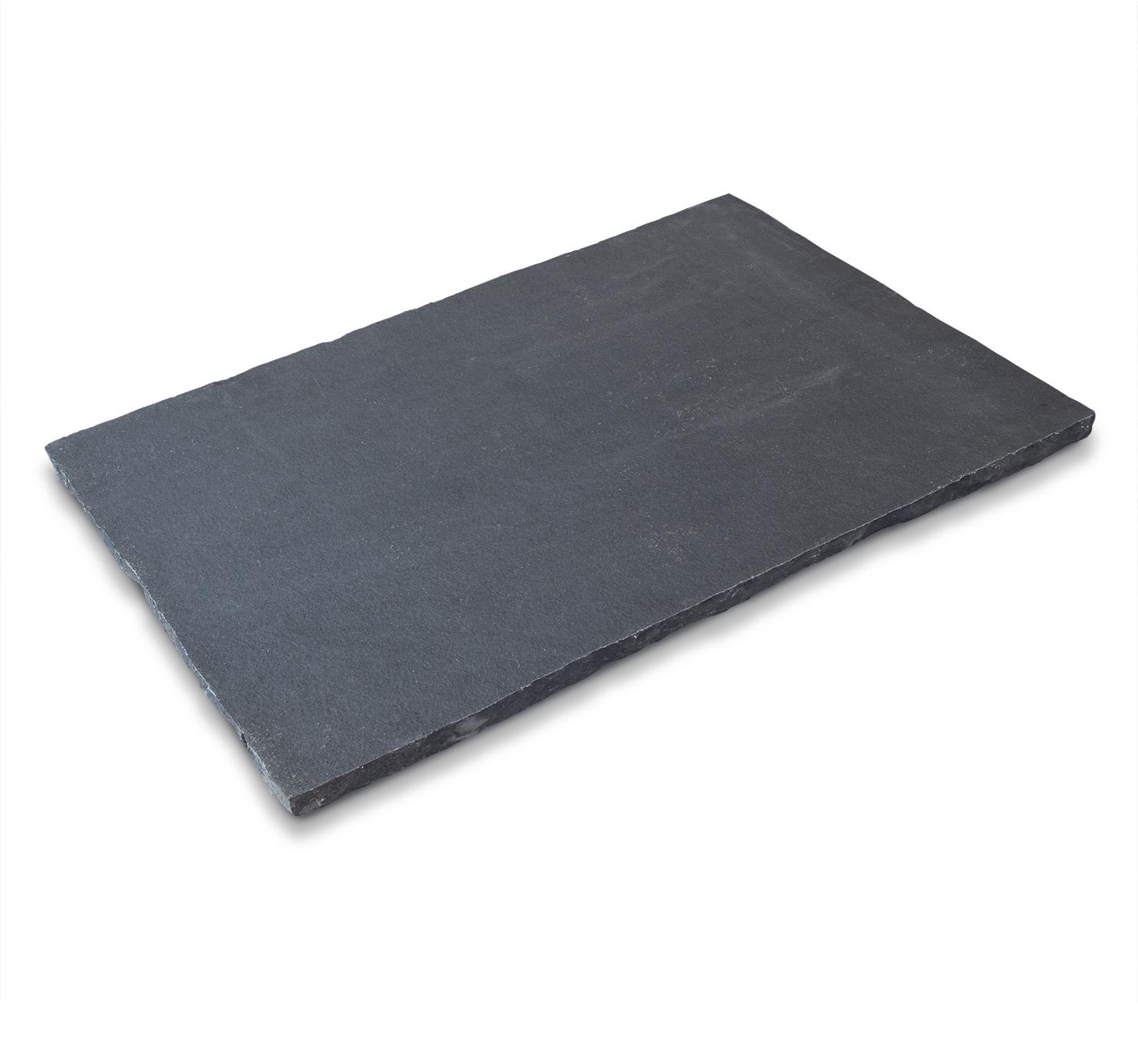 Black Limestone Single Slab-cropped