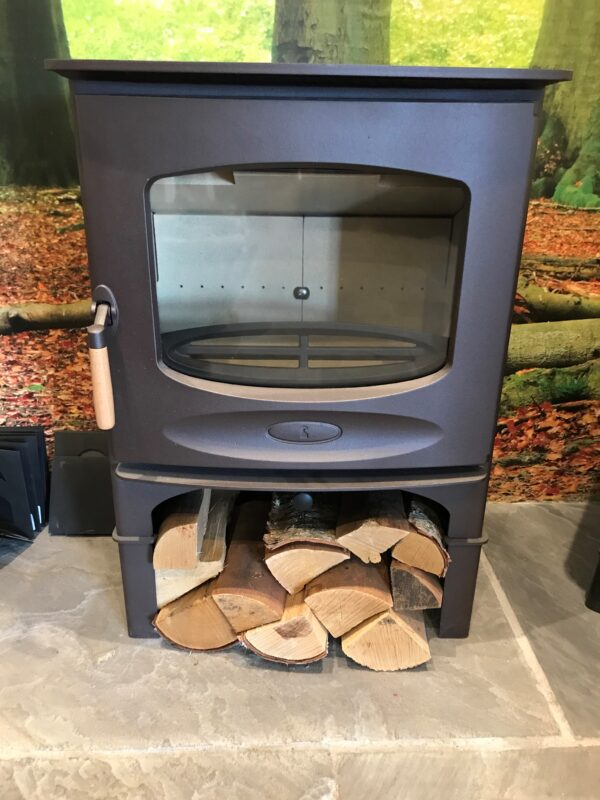 Charnwood C-Seven BLU in brown on store stand - Ex Display