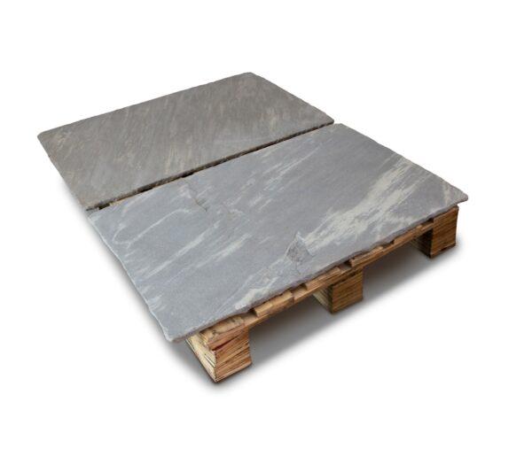 Grey Limestone Hearth