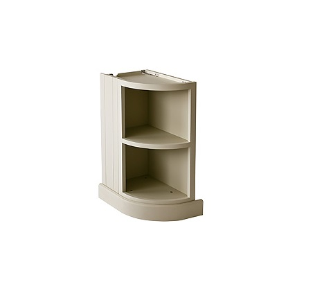 Neptune-open curved cabinet