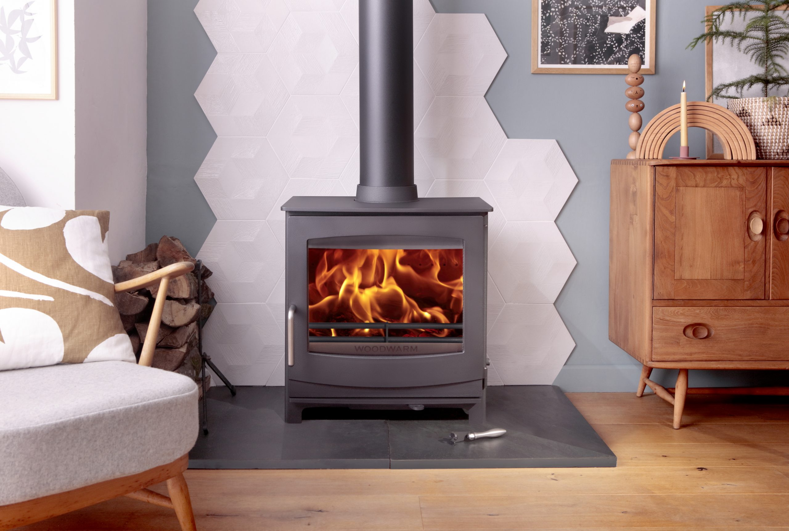Woodwarm Fireview ECO 5kw