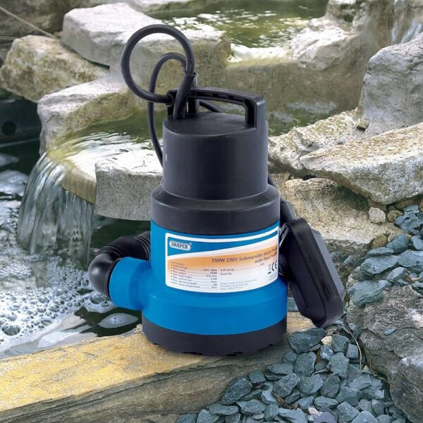 Novitek Submersible Water Pump with 10m Hose - This water pump is ideal for drainage of Novitek Spas, simply submerge the pumpo inside the hot tub with the flexible hose and turn on via the floating switch. Fitted with 10m of power cable and 10m of flexible 32mm hose  Contains: 1 x submersible pump, jubilee clip, 10metres of 32mm hose Output: 108L per min Maximum water temperature 35 Celsius Output Diameter: 32mm