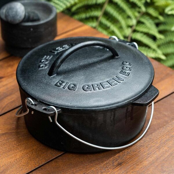 Cast Iron Dutch Oven for Big Green Egg