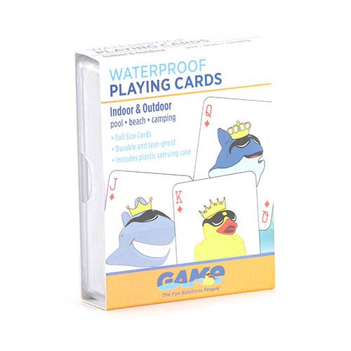 tubhub Waterproof Plastic Playing Cards