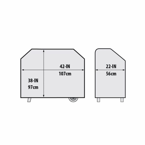 Crown Pellet 400 Grill Cover Dimensions