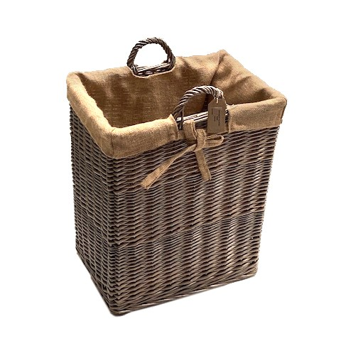 Rectangular Storage Log Basket