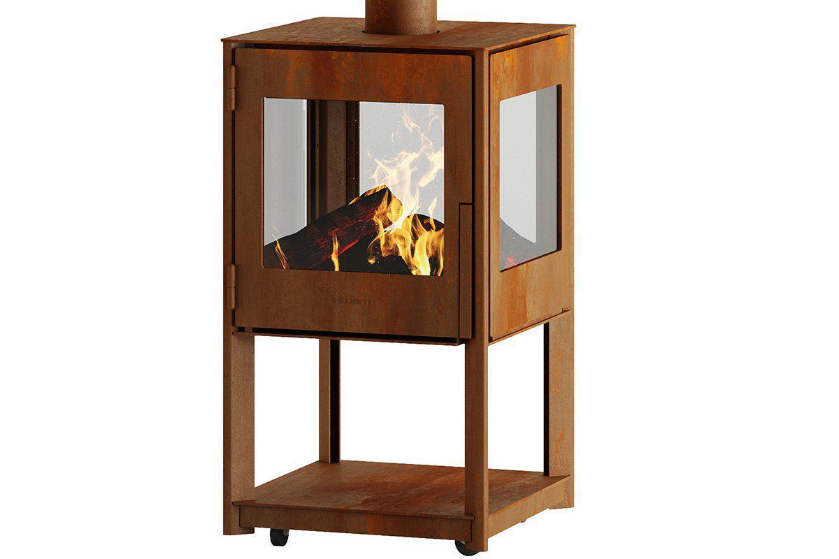 Hwam Cubis Outdoor Wood-Burning Stove