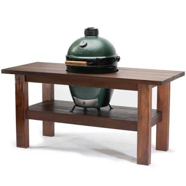 Premium Royal Mahogany Table for Large Big Green Egg
