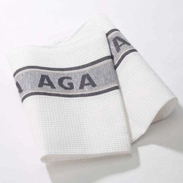 Black AGA Tea Towels