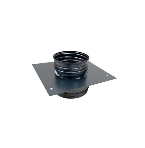 Anchor Plate to Flexible Liner - Schiedel ICID Twin Wall - Black