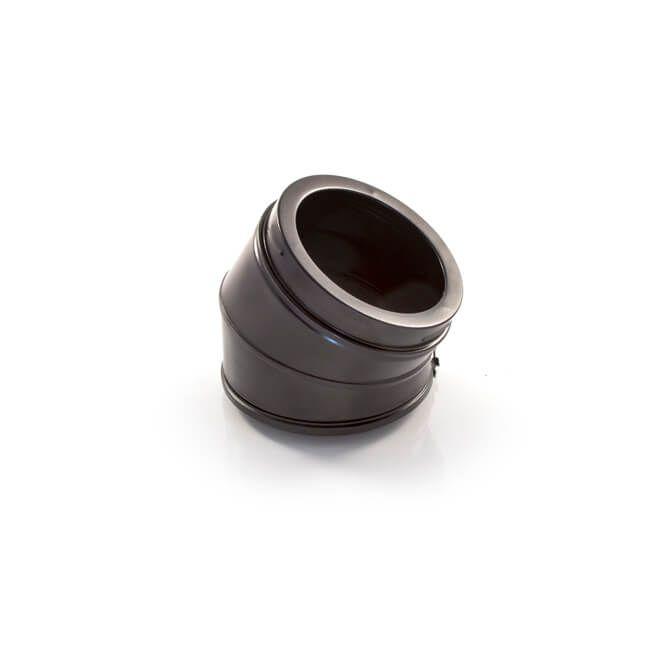 30 Degree Bend - Schiedel ICID Twin Wall - Black