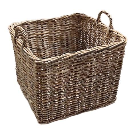 Square Basket with Ear Handles - Medium