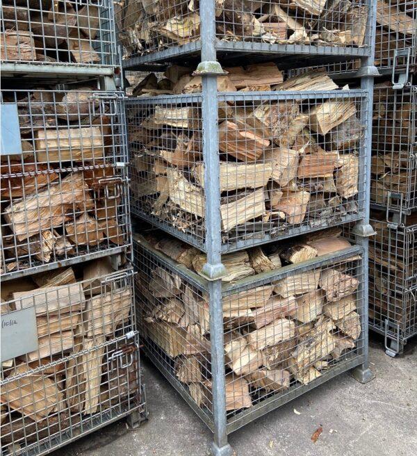 Tipper load of logs