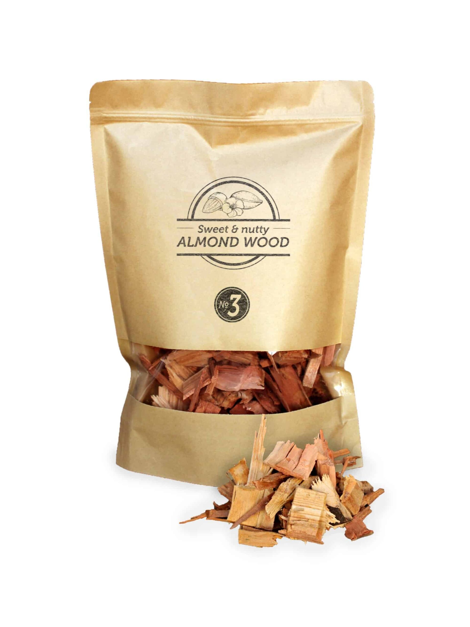 SOW almond chips