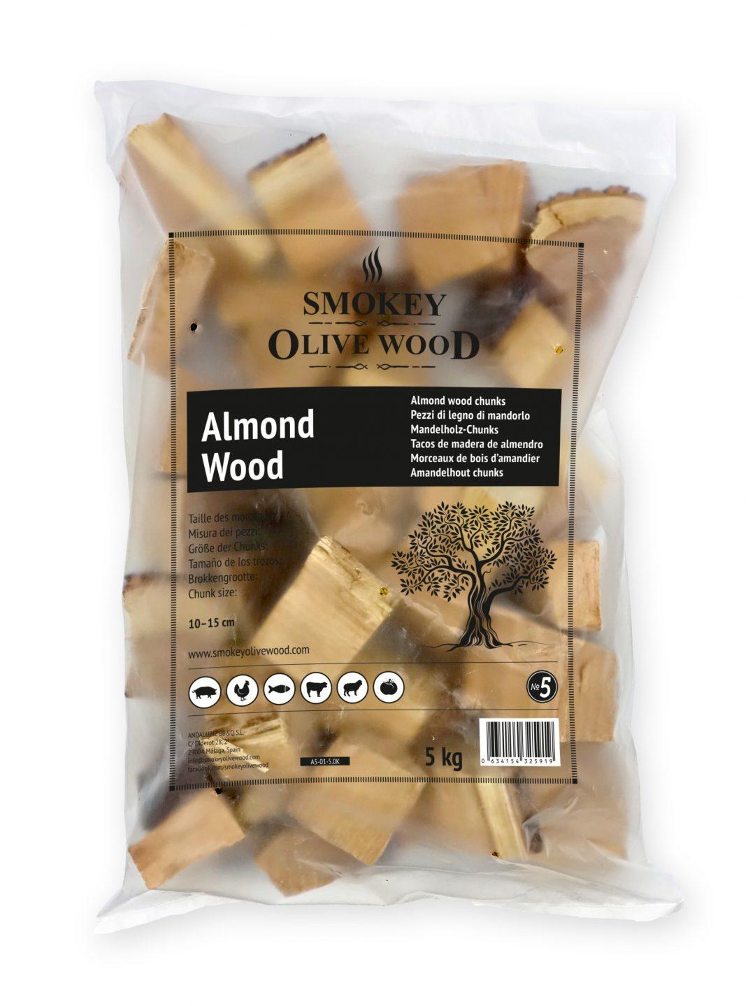 SOW almond wood chunks