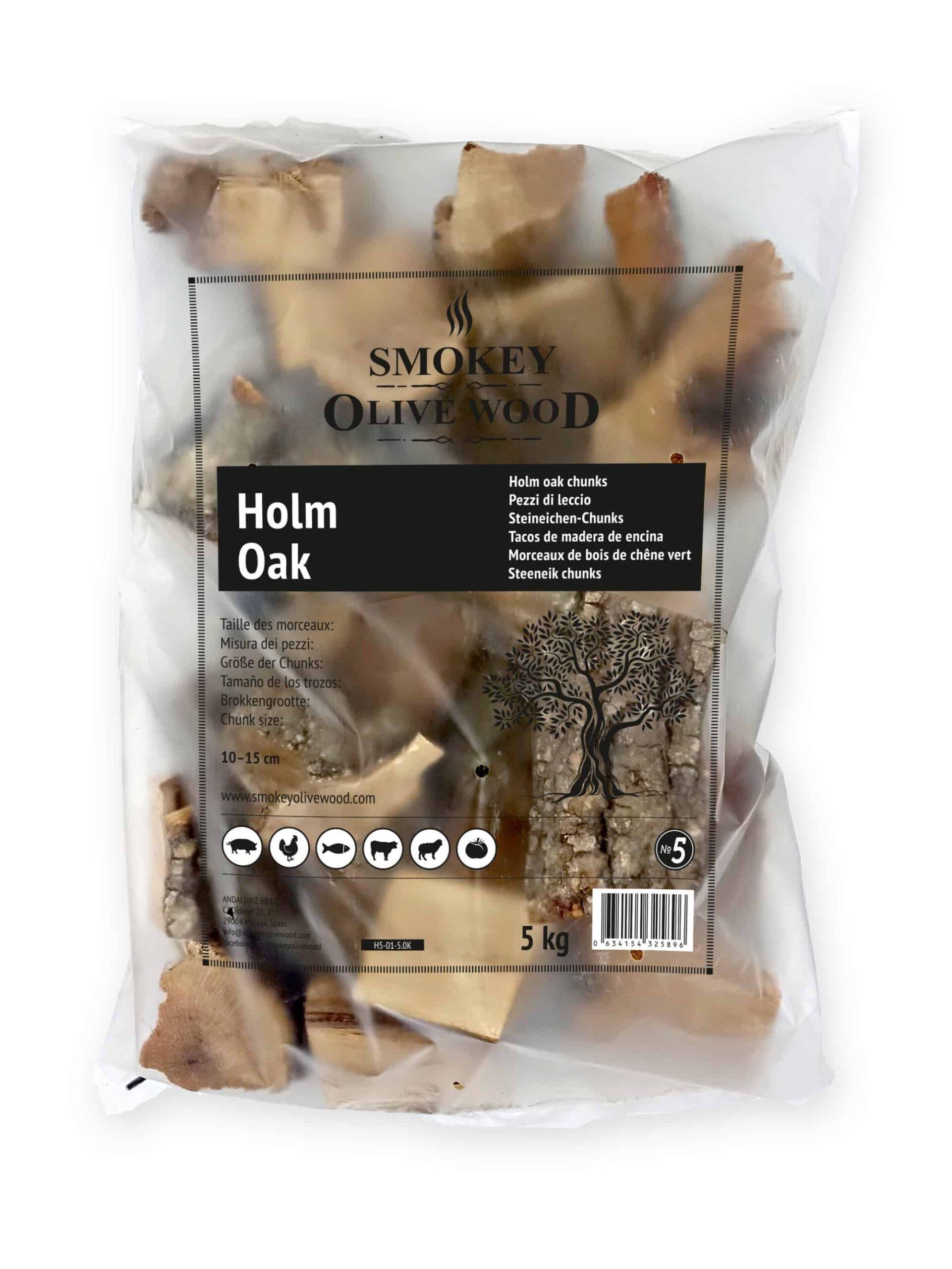 SOW holm oak wood chunks