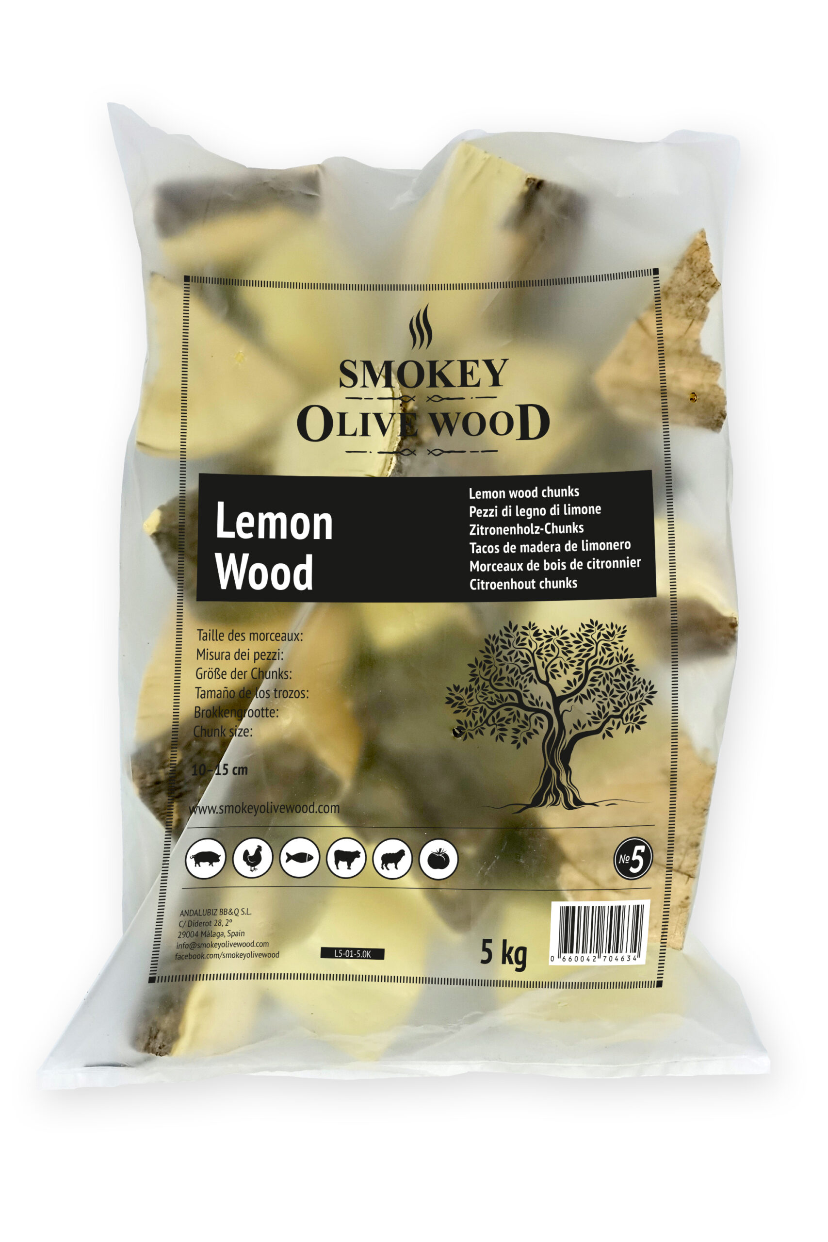 SOW lemon wood chunks