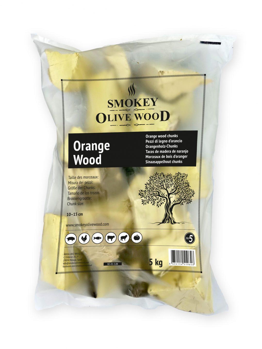 SOW orange wood chunks