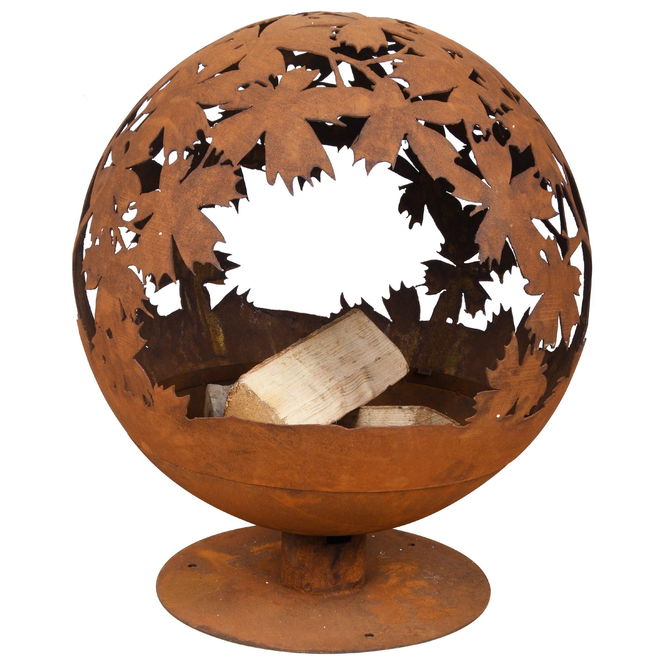 Leaves-Fire-Globe